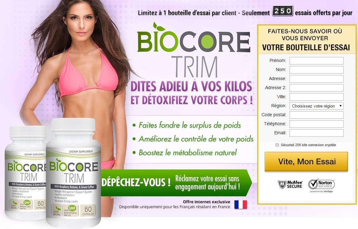 biocore trim officiel site