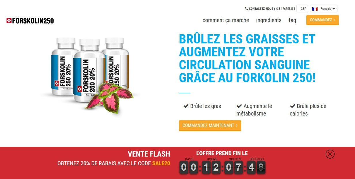 forskolin site officiel