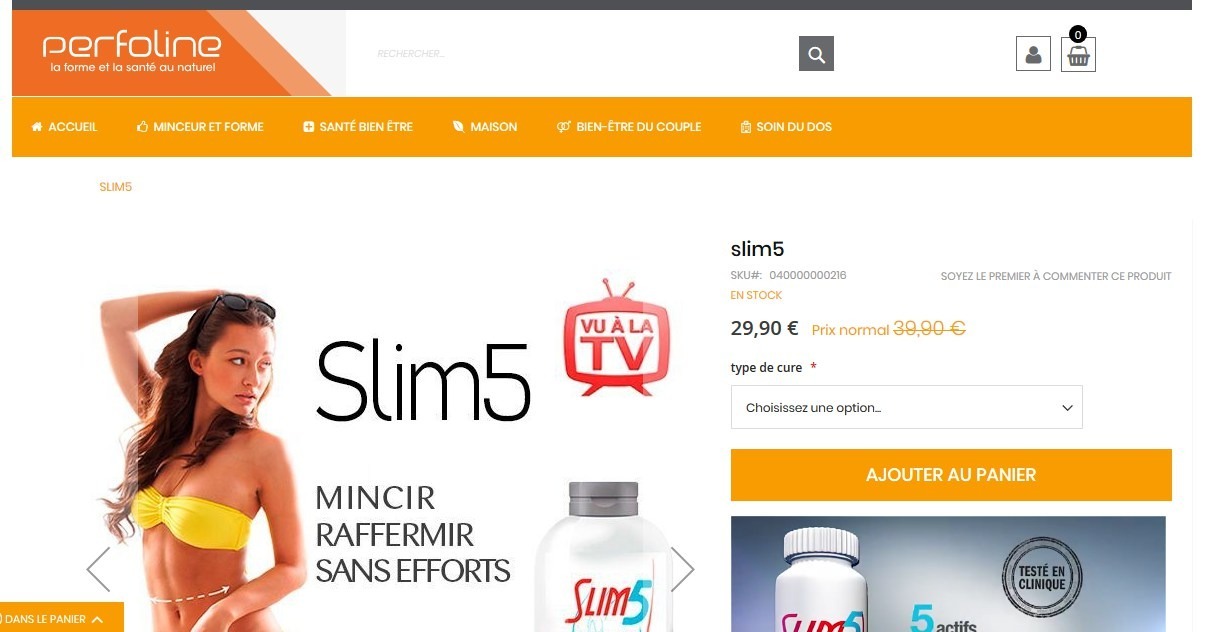 slim5 site officiel