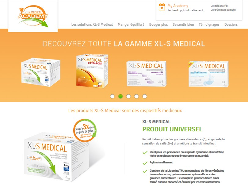 xls medical site officiel
