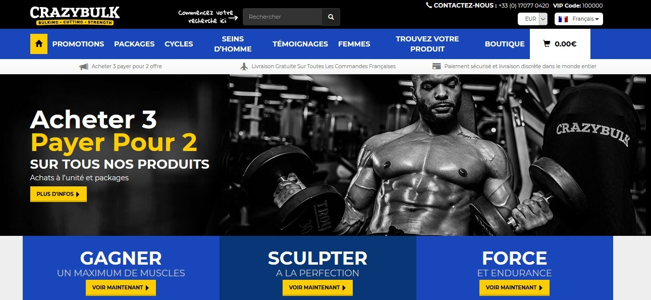 crazy bulk site officiel