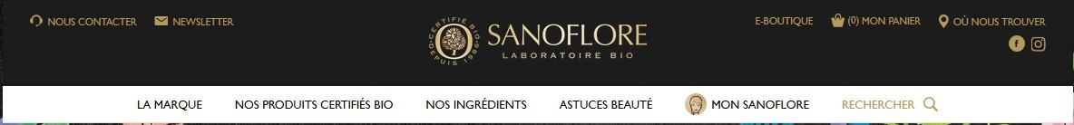 sanoflore categories