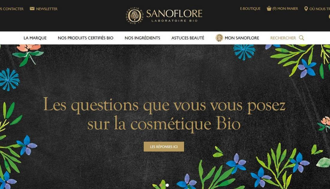 sanoflore site officiel