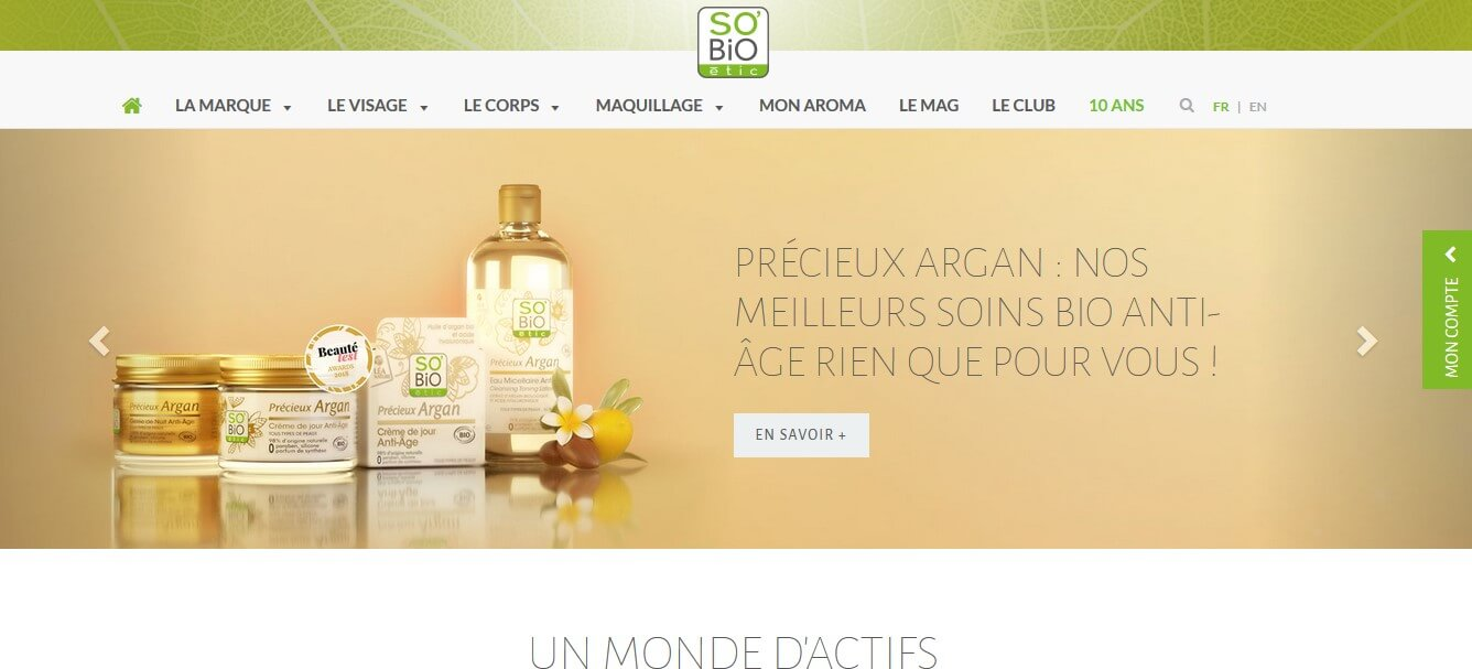 so bio etic site officiel